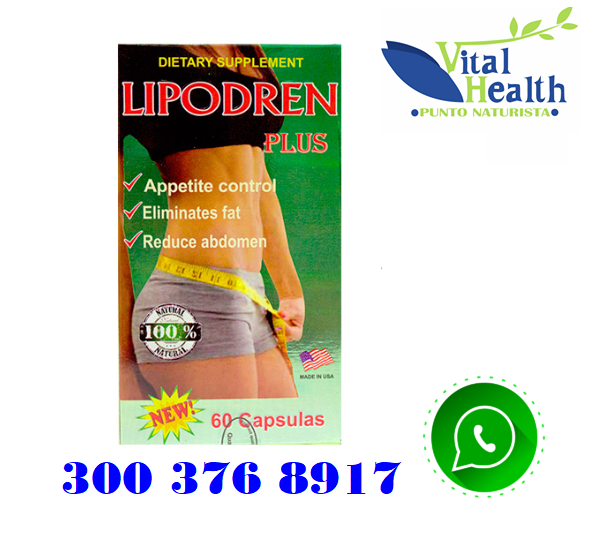 LIPODREN PLUS ADELGAZANTE NATURAL