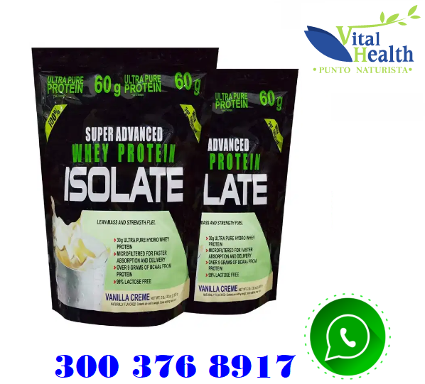 SUPER ADVANCED WHEY PROTEINA ISOLATE X 2LBS