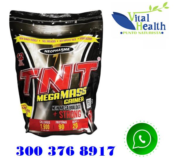 TNT MEGA MASS GAINER POR 3 LIBRAS