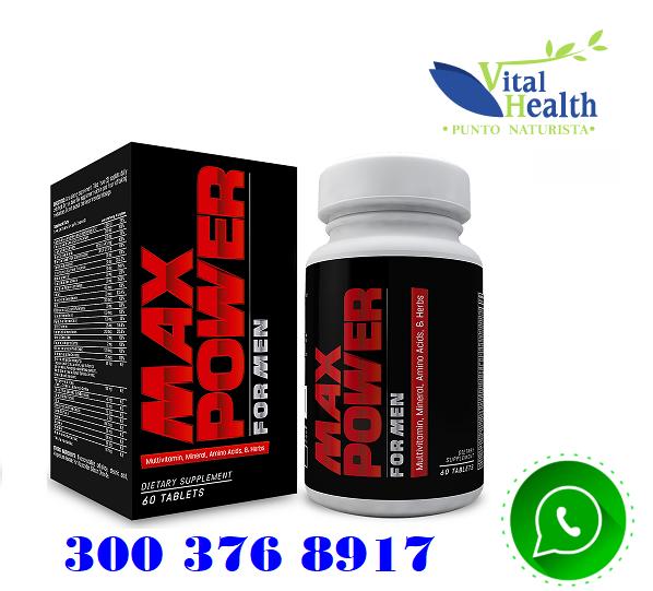 Max Power For men multivitaminico