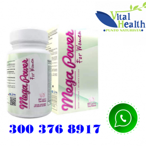 MEGA POWER FOR WOMEN VITAMINAS PARA MUJER