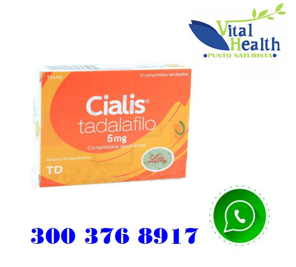 CIALIS 5MG X 14 COMPRIMIDOS