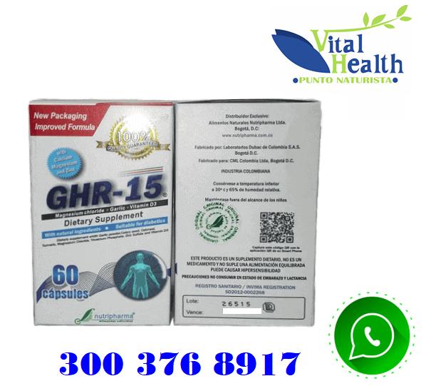 GHR15 CONTRA LA ARTRITIS Y ARTROSIS