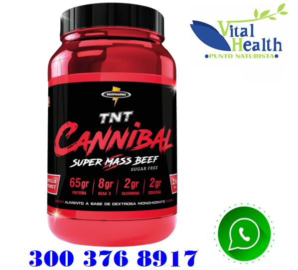CANNIBAL Proteína De Carne 4.8 libras