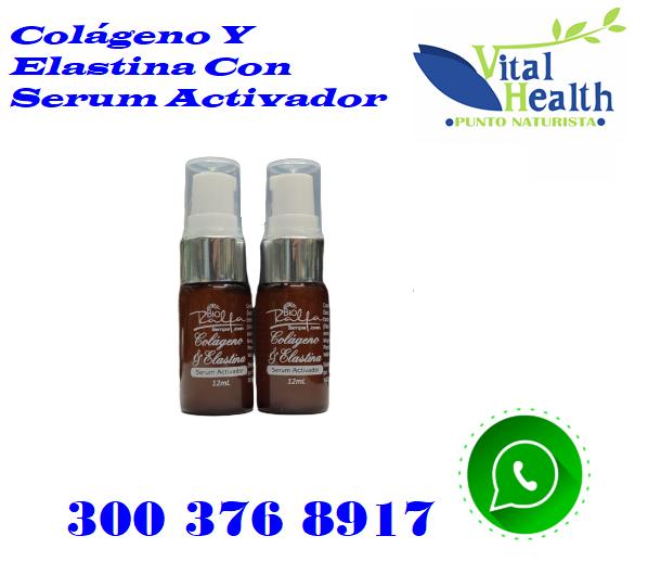 Colágeno Y Elastina Con Serum Activador