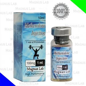 Primobolan de Magnus Lab es la versión inyectable del esteroide Methenolone. En este caso un éster de enantato se utiliza para disminuir el esteroide de la liberación en el sitio de la inyección. Primobolan ofrece un patrón similar de liberación del esteroide, como el enantato de testosterona, con niveles hormonales en sangre muy elevados durante aproximadamente 2 semanas. Primobolan en sí es un esteroide anabólico moderadamente fuerte con propiedades androgénicas muy bajas. Su efecto anabólico es considerado poco menos que el Deca-Durabolin (decanoato de nandrolona) en miligramo por miligramo.