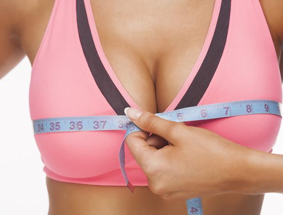 Busto sensual, aumenta el tamaño de los senos