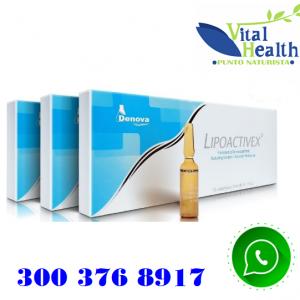 Lipoactivex Ampollas Reductoras