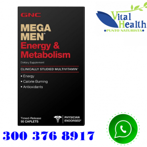 MEGA MEN ENERGIA Y METABOLISMO