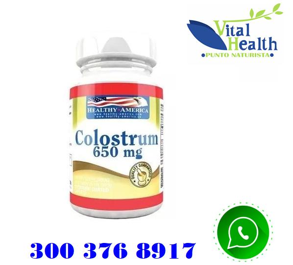 COLOSTRUM 650 MG FORTALECE EL SISTEMA INMUNE