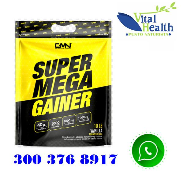 SUPER MEGA GAINER BOLSA