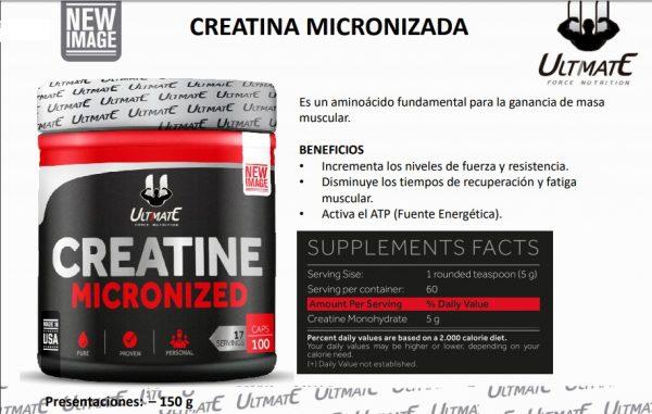 Creatina Micronizada