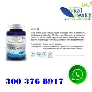 Col-H Promueve La Digestión X 120 Capsulas