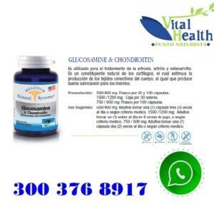 Glucosamina + Condroitina 1.500 Mg X 30 sobres