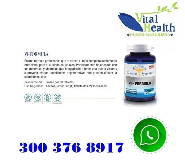 Vi - Formula Para La Vision X 60 Tabletas