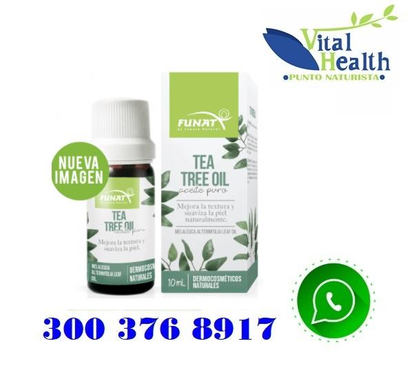 Aceite Esencial Arbol De Te Verde Por 10 Ml
