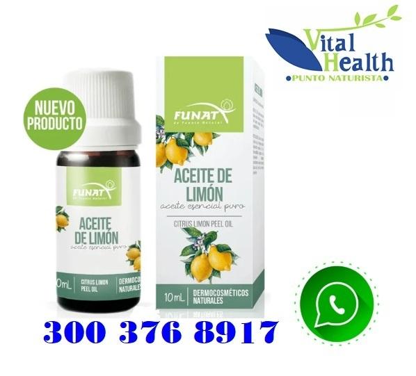 Aceite Esencial De Limon Por 10 Ml