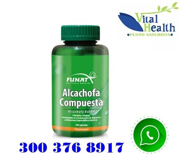 Alcachofa Compuesta X 100 Cápsulas