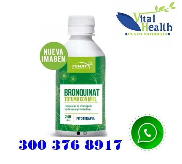 Bronquinat Totumo Con Miel 240 Ml