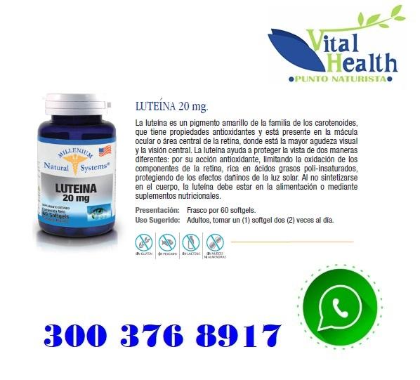 Luteina 20 Mg Promueve La Visión Por 60 Cap Blandas.jpg