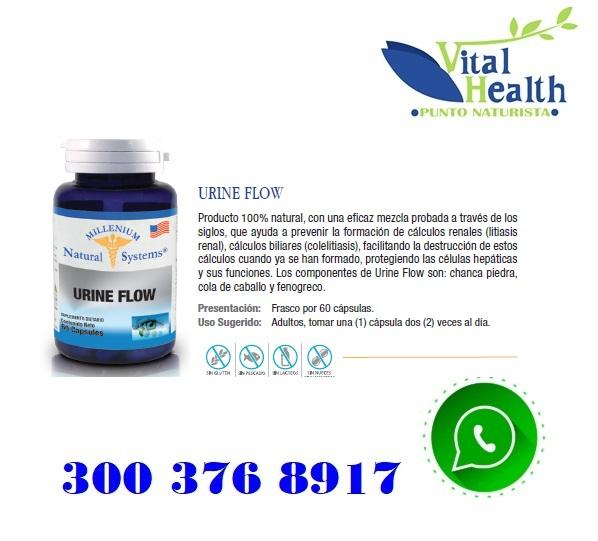 Urine Flow X 60 Cap Previene Calculos Renales