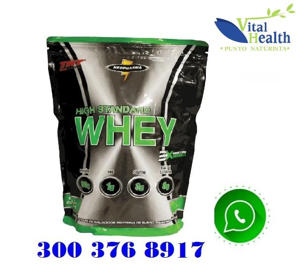 100 % Whey Proteina Standard bolsa X 1 Libra