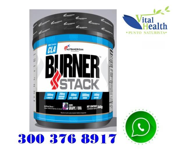 Burner stack quemador energizante