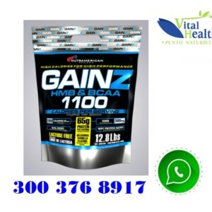 Gainz Proteina hipercalorica 12.8 Lbs