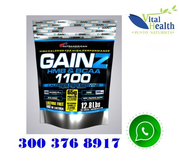 Gainz Proteina hipercalorica 3.2 Lbs