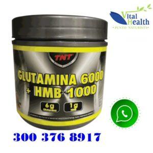 Glutamina + HMB Por 450 gr