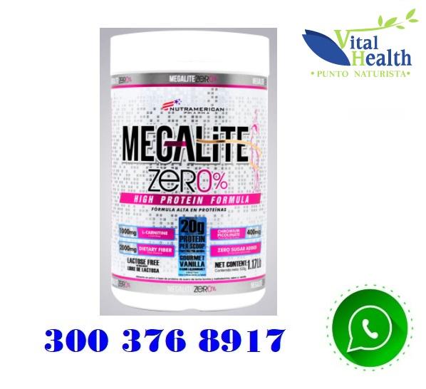 Mega Lite 0% proteína limpia