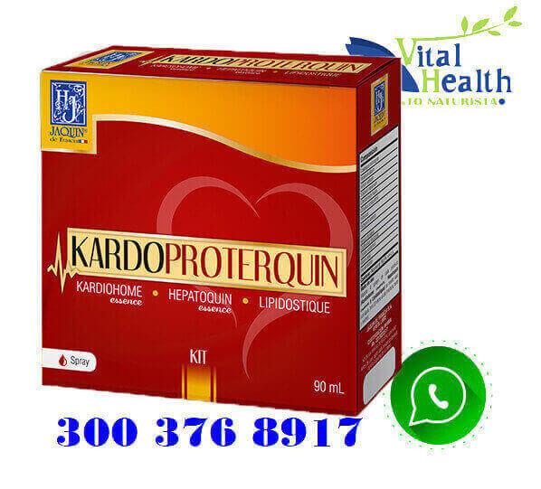 kardioproterquin es un Kit de 3 esencias florales (kardiohome, hepatoquin, lipidostique)