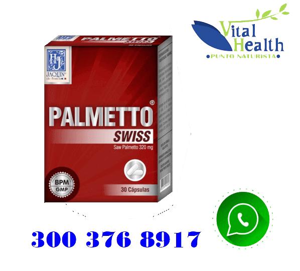 Palmetto Swiss x 30 cápsulas- Tratamiento de la Próstata